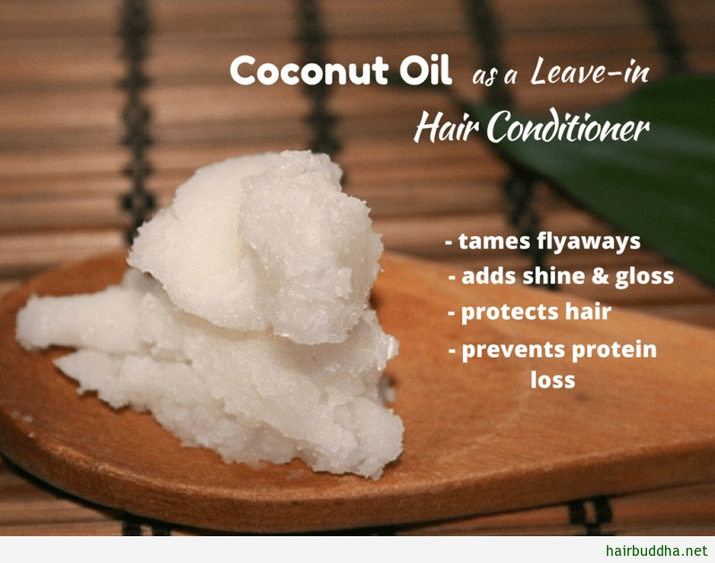 Coconut oil as a Leave-in Hair Conditioner1