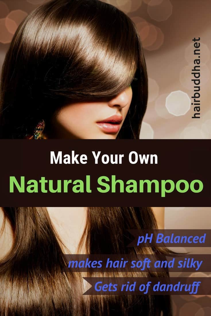 How to make natural shampoo at home