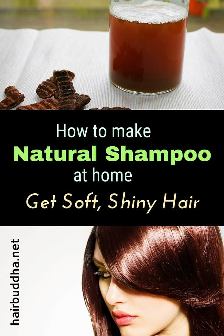 Make Your Own Natural Shampoo: Get Soft and Shiny Hair at