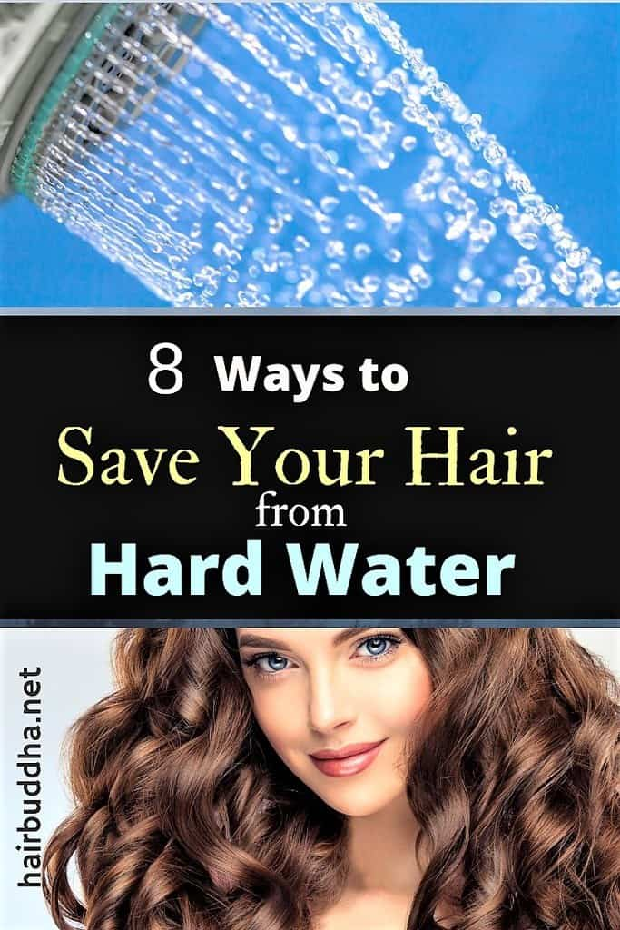 8 Ways to Save your Hair from Hard Water - hair buddha
