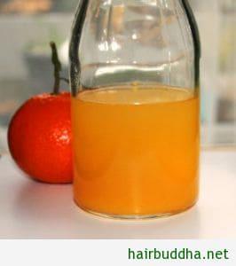 orange hair rinse