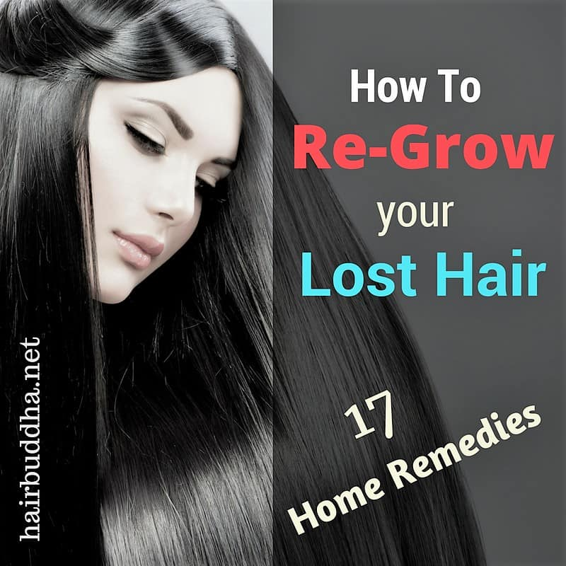 regrow lost hair