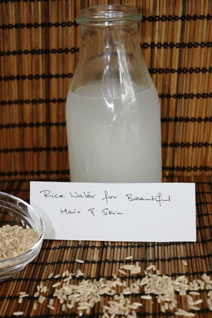 Rice Water for gorgeous hair and flawless skin