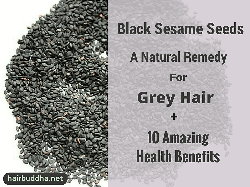 Black Sesame Seeds for grey hair1
