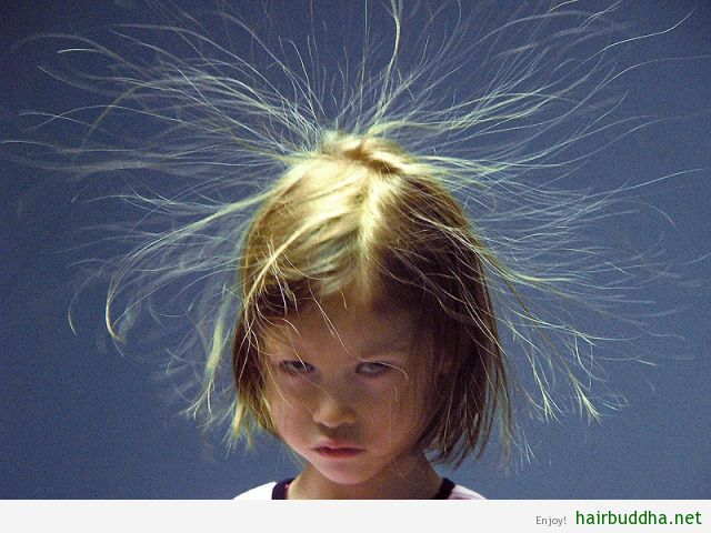 Prevent Static Hair