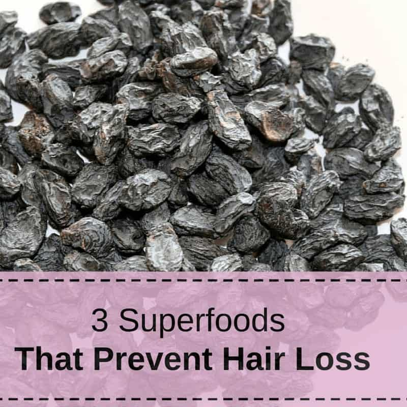 3 superfoods that prevent hair loss