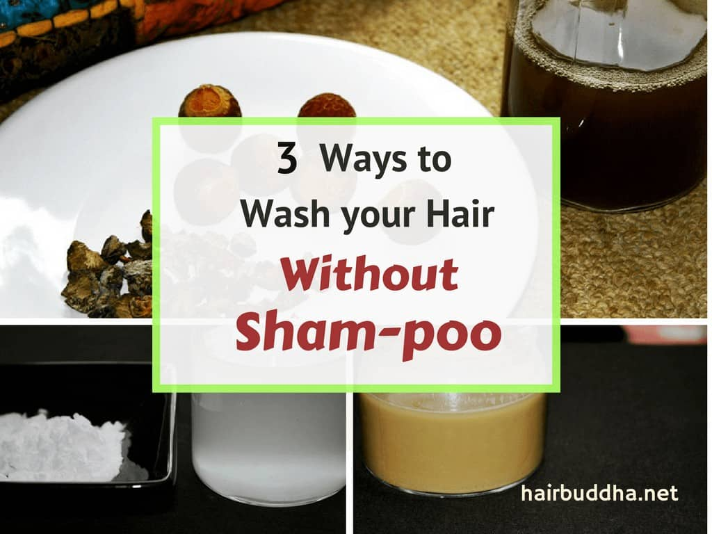 3 ways to wash your hair without shampoo