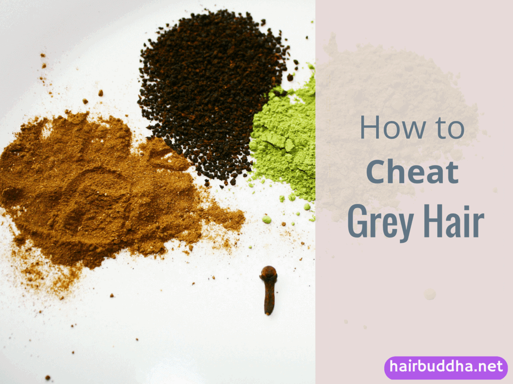 how to cheat grey hair