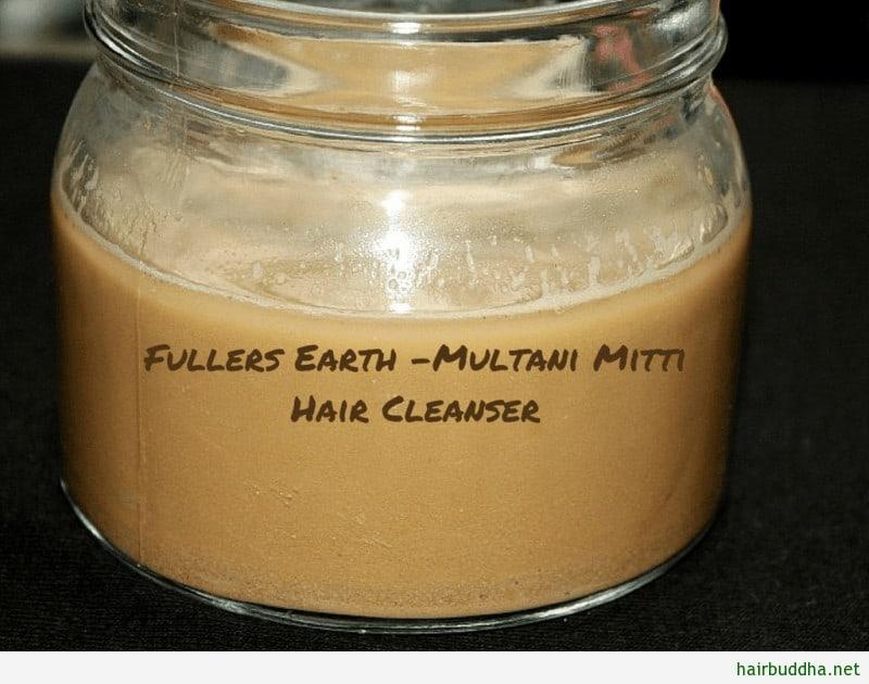 Fullers earth -Multani Mitti Hair1