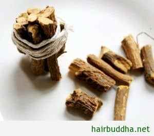 licorice (jestamadha) for hair loss