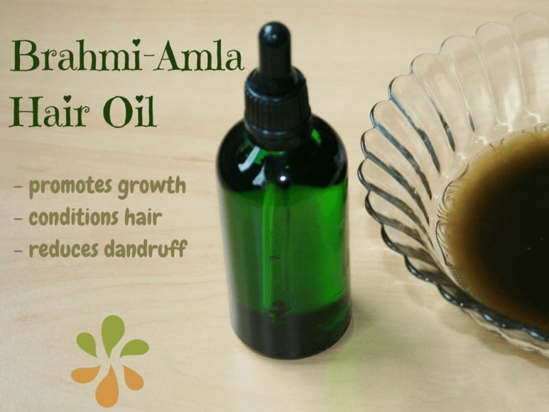 brahmi amla hair oil for hair growth