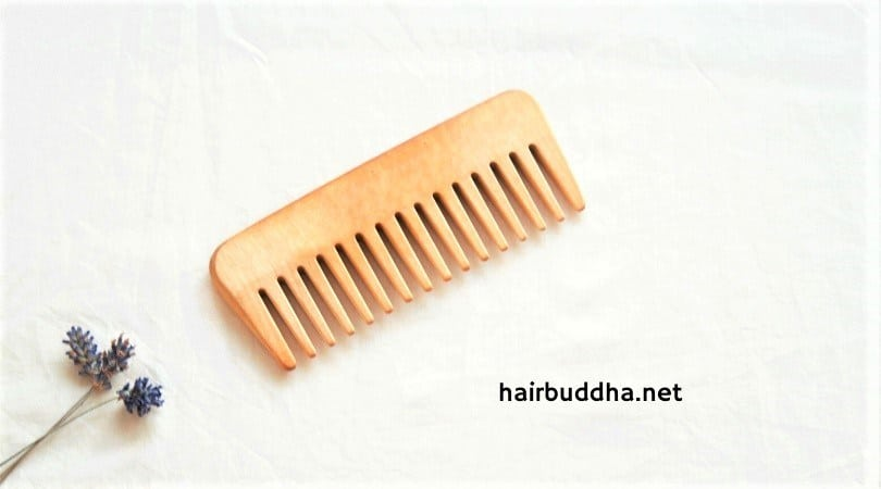 why use wooden comb