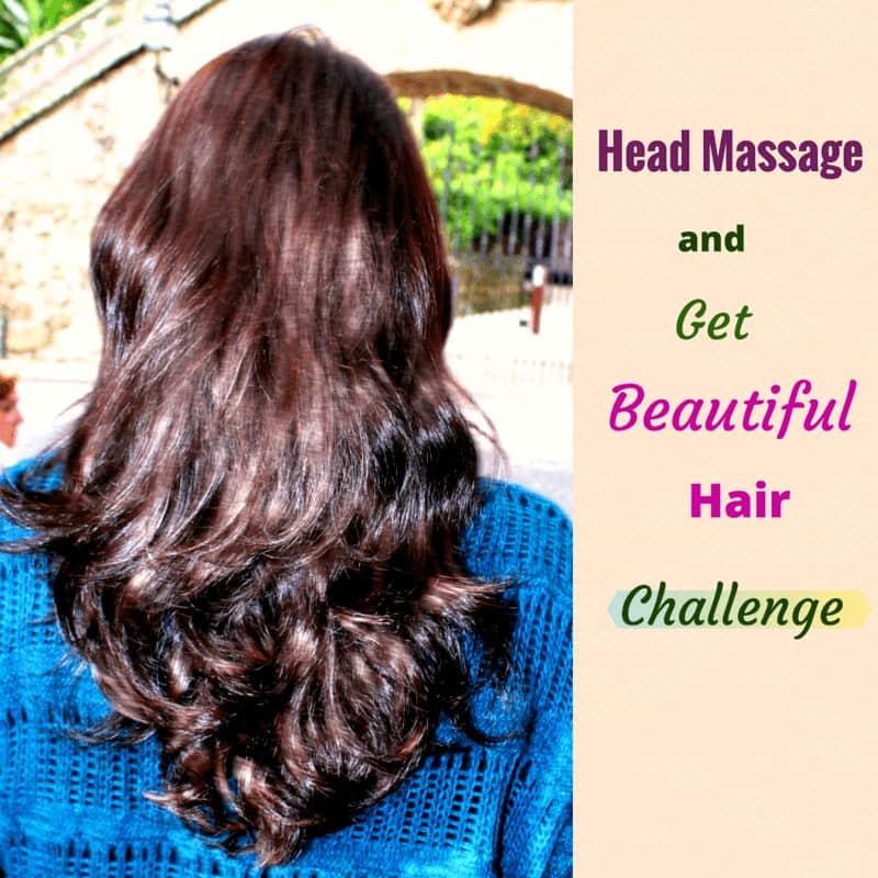 Head Massage and get beautiful hair