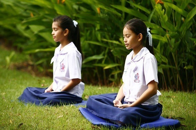 meditate for healthy hair