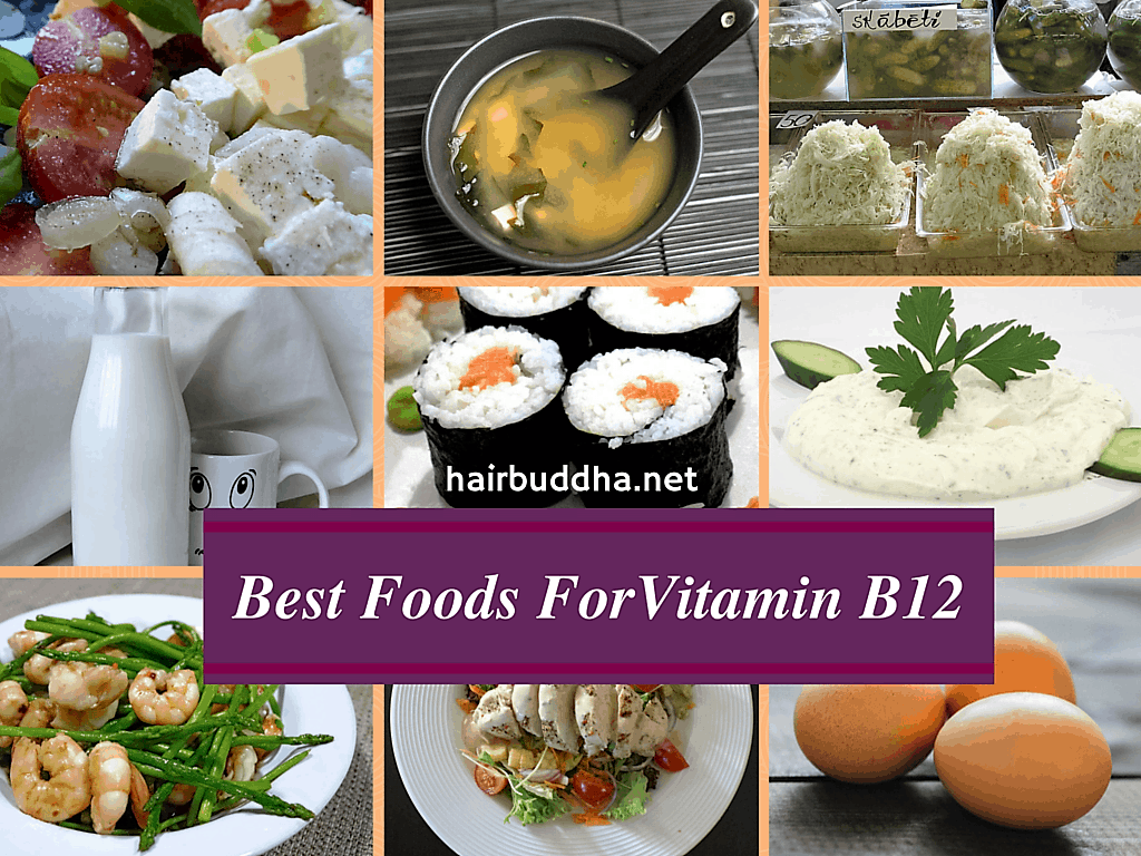 Top Food Sources of Vitamin B12