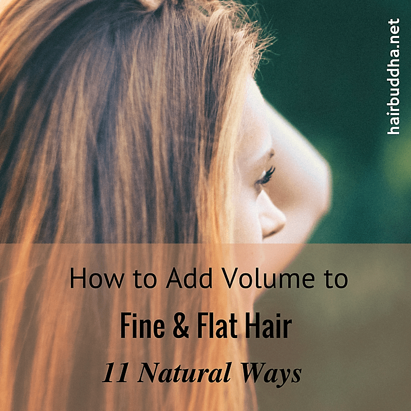 How To Add Volume And Thickness To Fine Hair 11 Natural Tips Hair