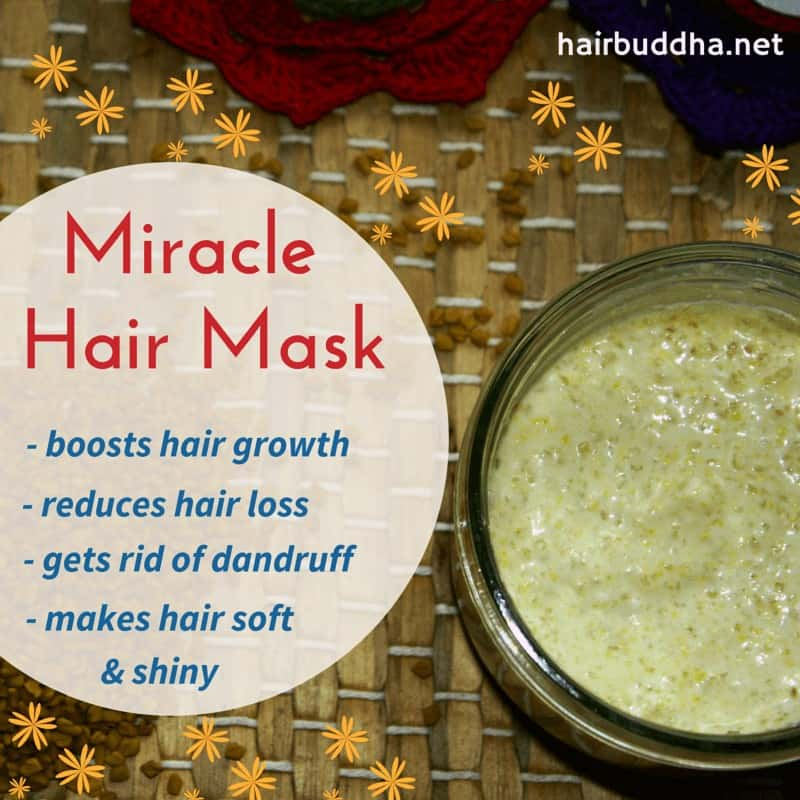 miracle hair mask : fenugreek and yogurt