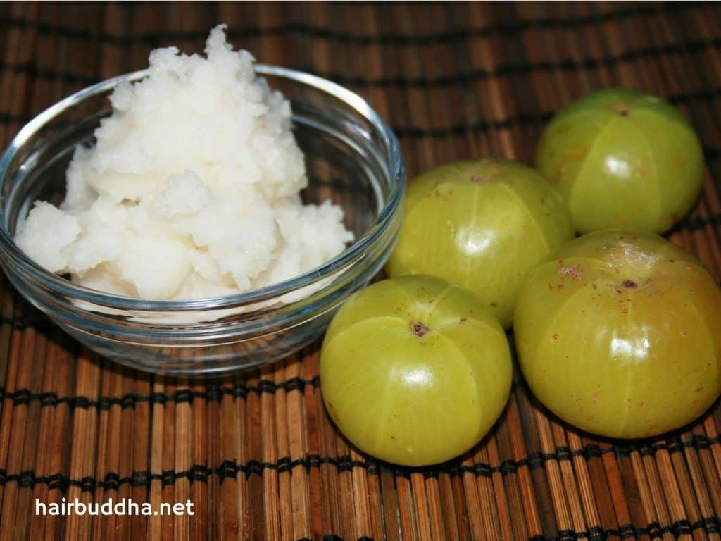 coconut-oil-and-amla for hair growth