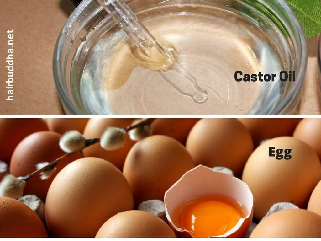 Egg white and olive oil for hair loss