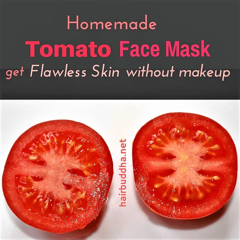 tomato face mask for flawless skin