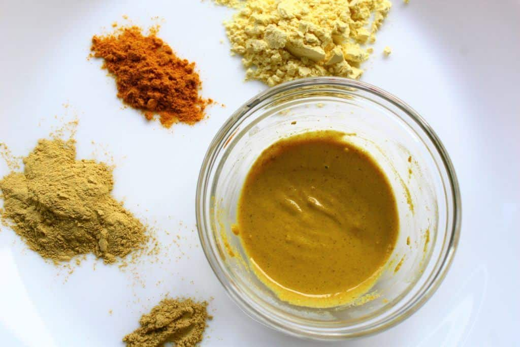 Besan and turmeric Face Cleanser/Wash