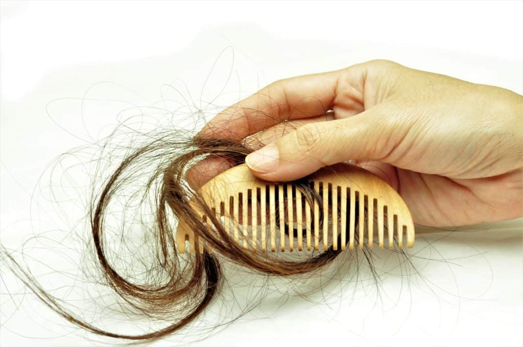 Temporary Hair Loss or Telogen effluvium