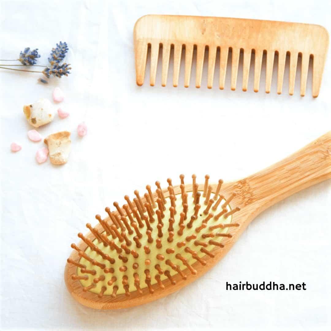 wooden hair brush benefits