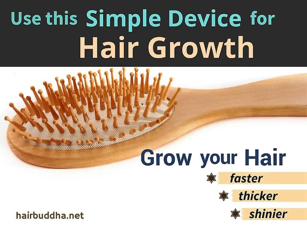Wooden Hair Brush for Hair Growth