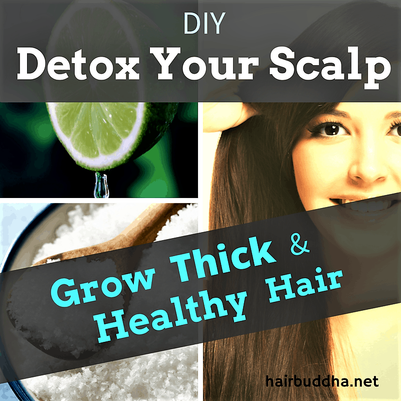 Detox your scalp and hair