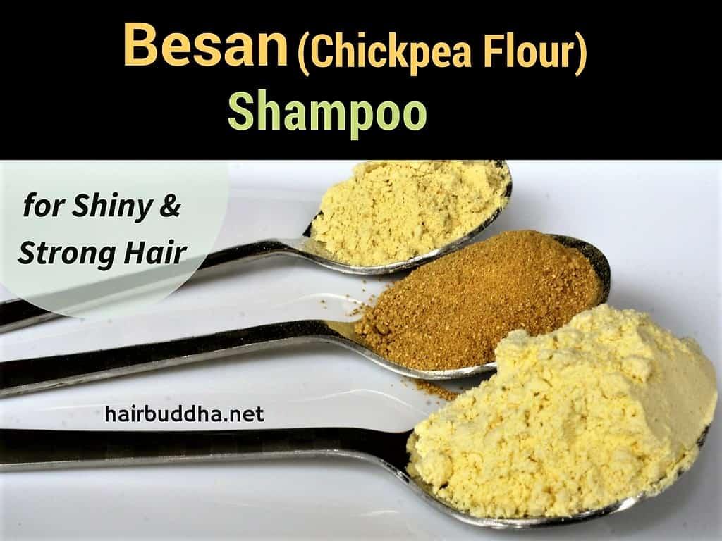 Besan shampoo