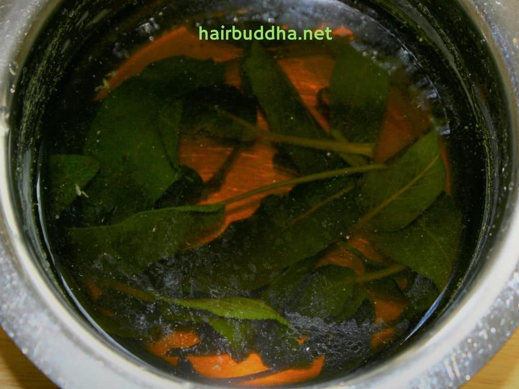 sage infusion remedy to darken grey hair