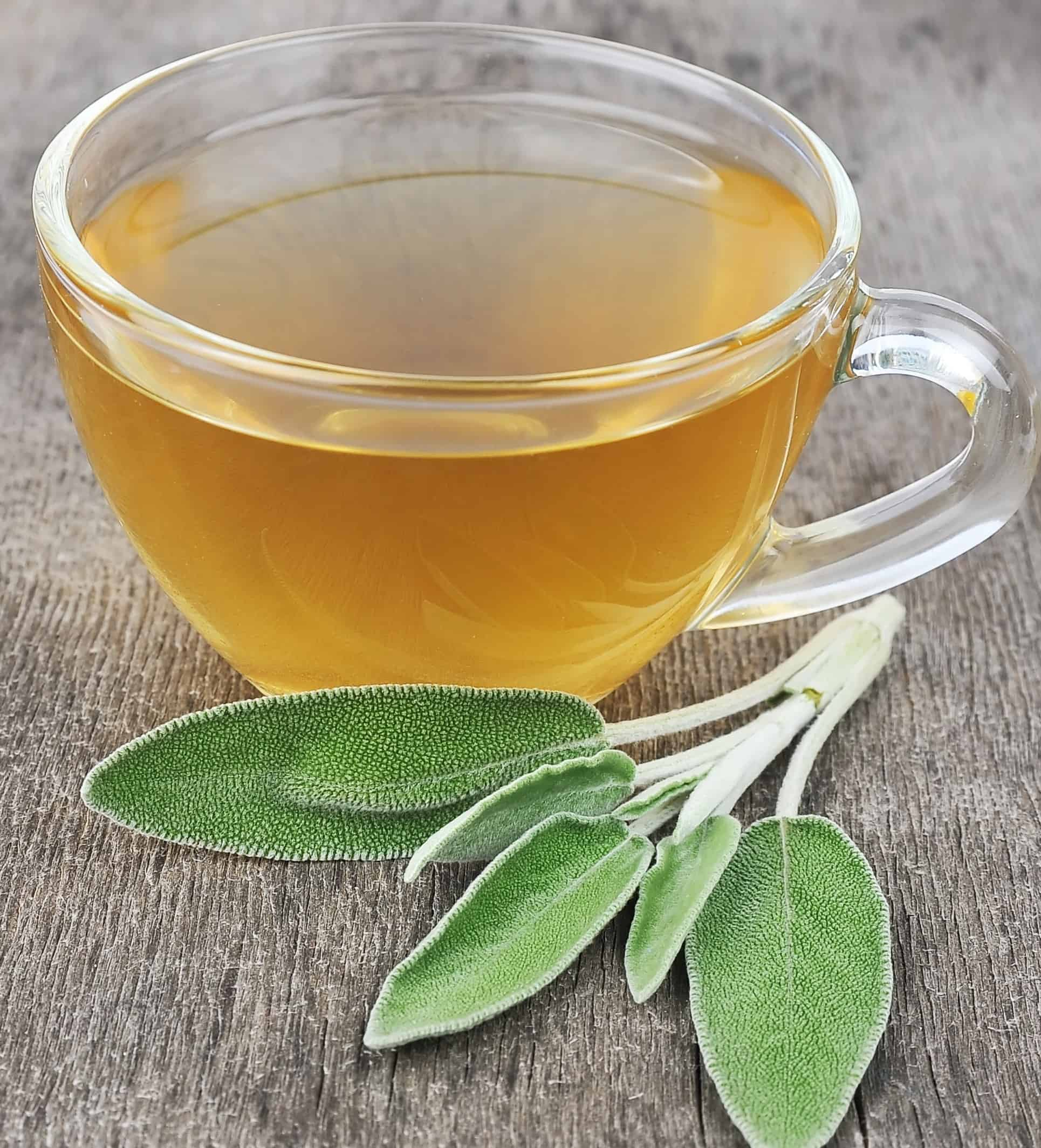 Sage tea for good health