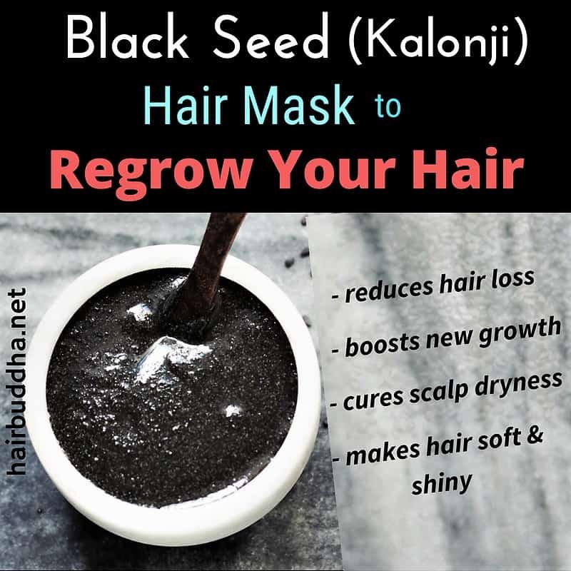 Black Seeds (Kalonji) Hair Mask to Regrow Lost Hair