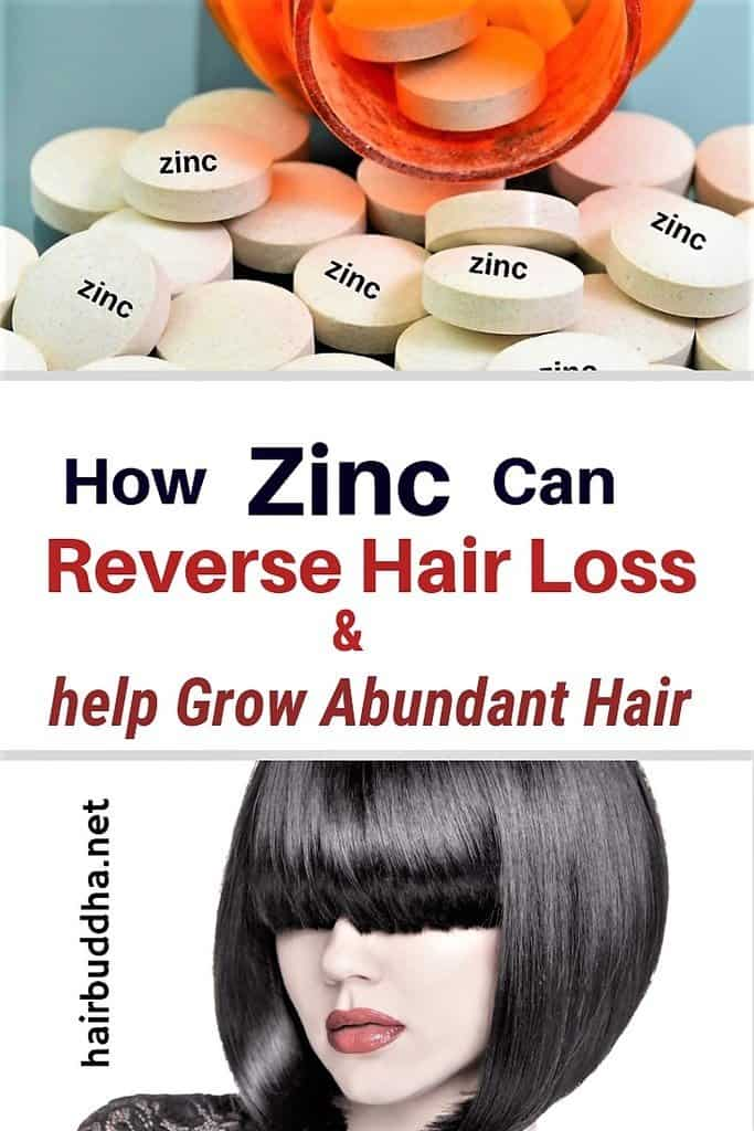 Zinc can stop hair loss