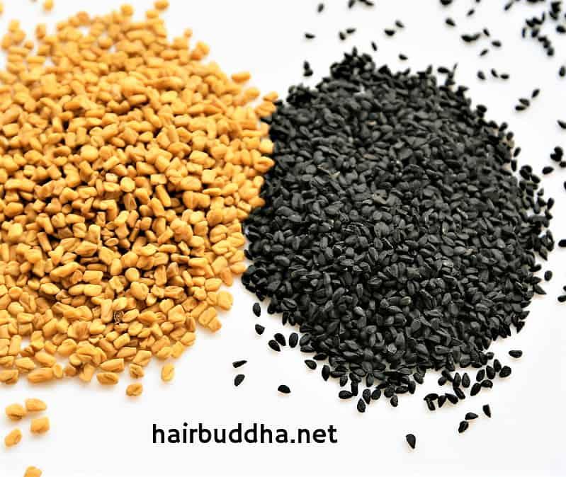 Black seed (Kalonji) hair oil for baldness