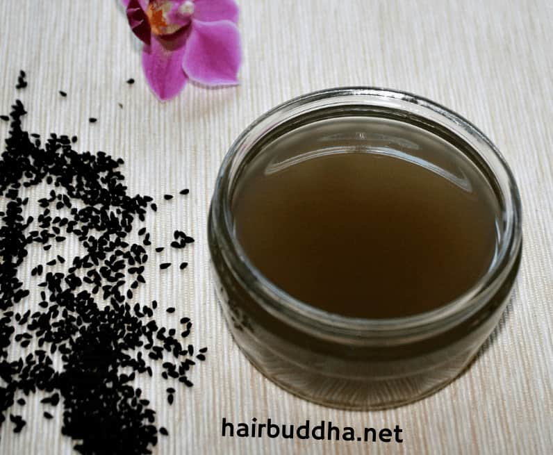black seed (kalonji) seed oil for baldness