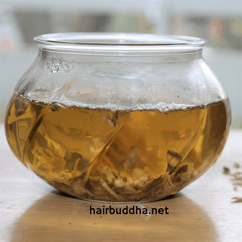 herbs to condition dry hair