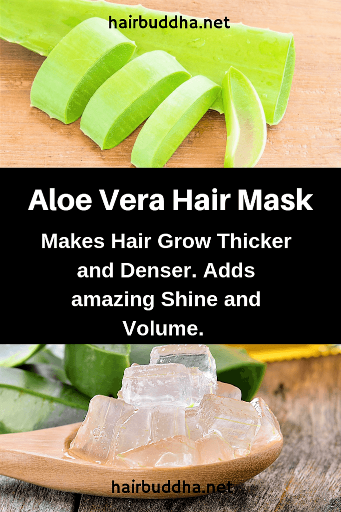 Aloe vera for thick hair growth