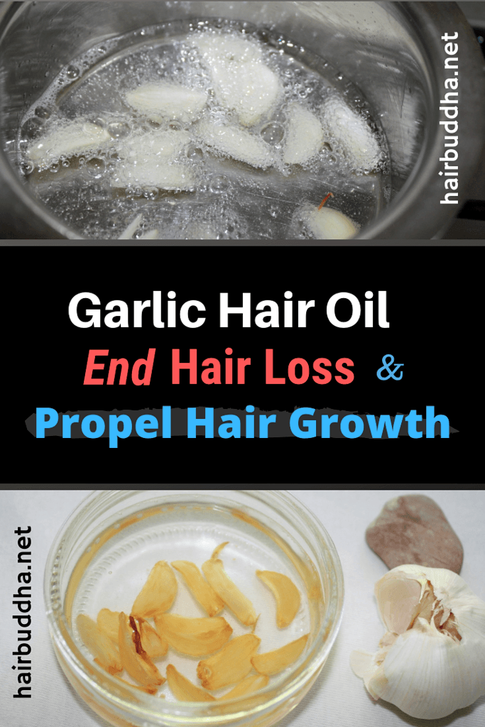 Garlic oil for hair loss