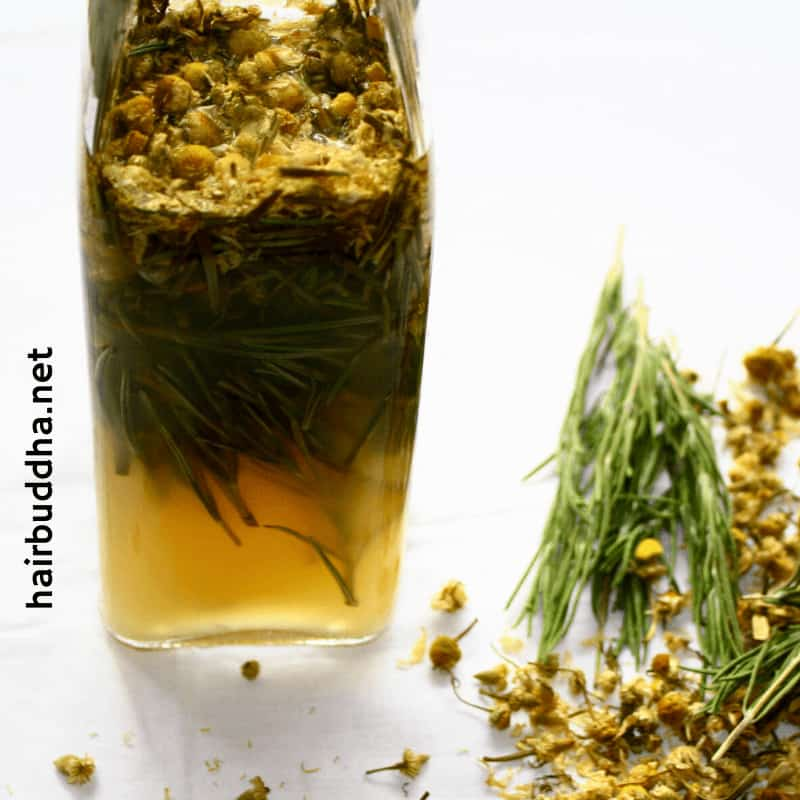 Vinegar and Rosemary Concentrate Making
