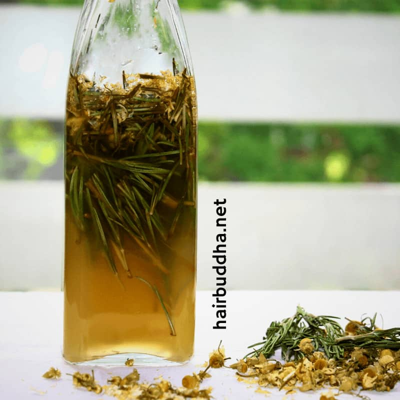 Vinegar and Rosemary Rinse Concentrate