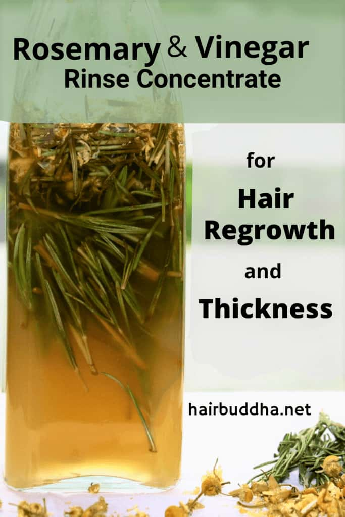 rosemary and vinegar rinse concentrate