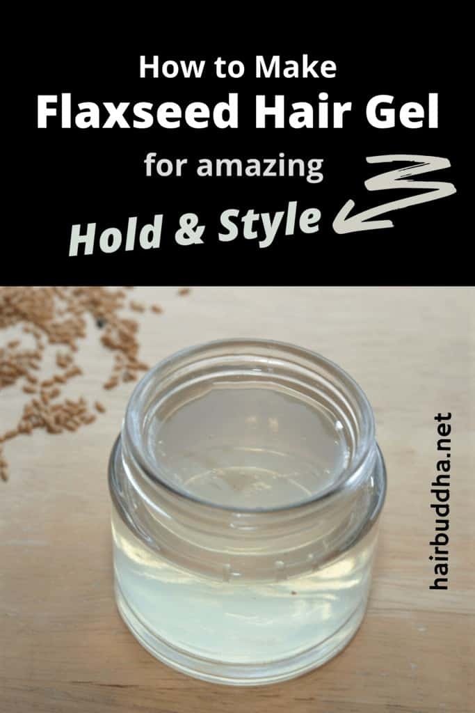flaxseed hair gel