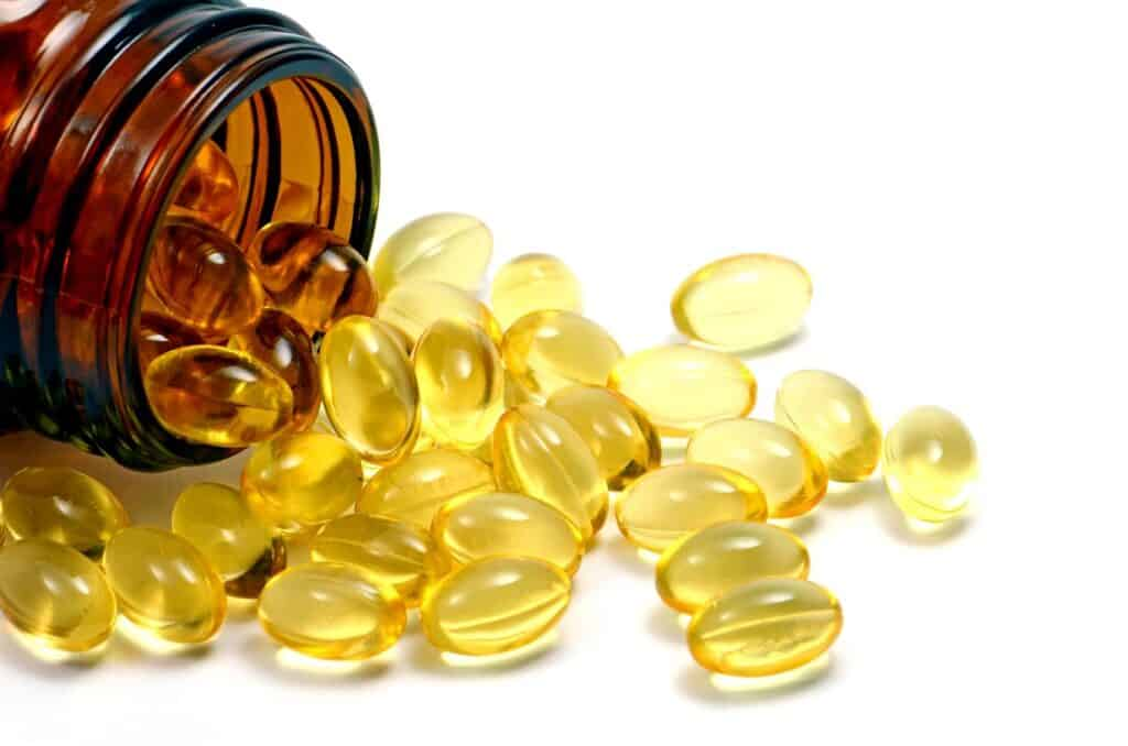 Vitamin D pills for Hair Loss