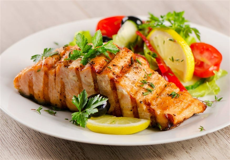 Grilled Salmon: A good source of Vitamin B12